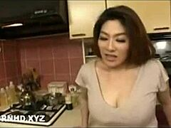 Jav impressive breasts stepmom owned behind papa agone